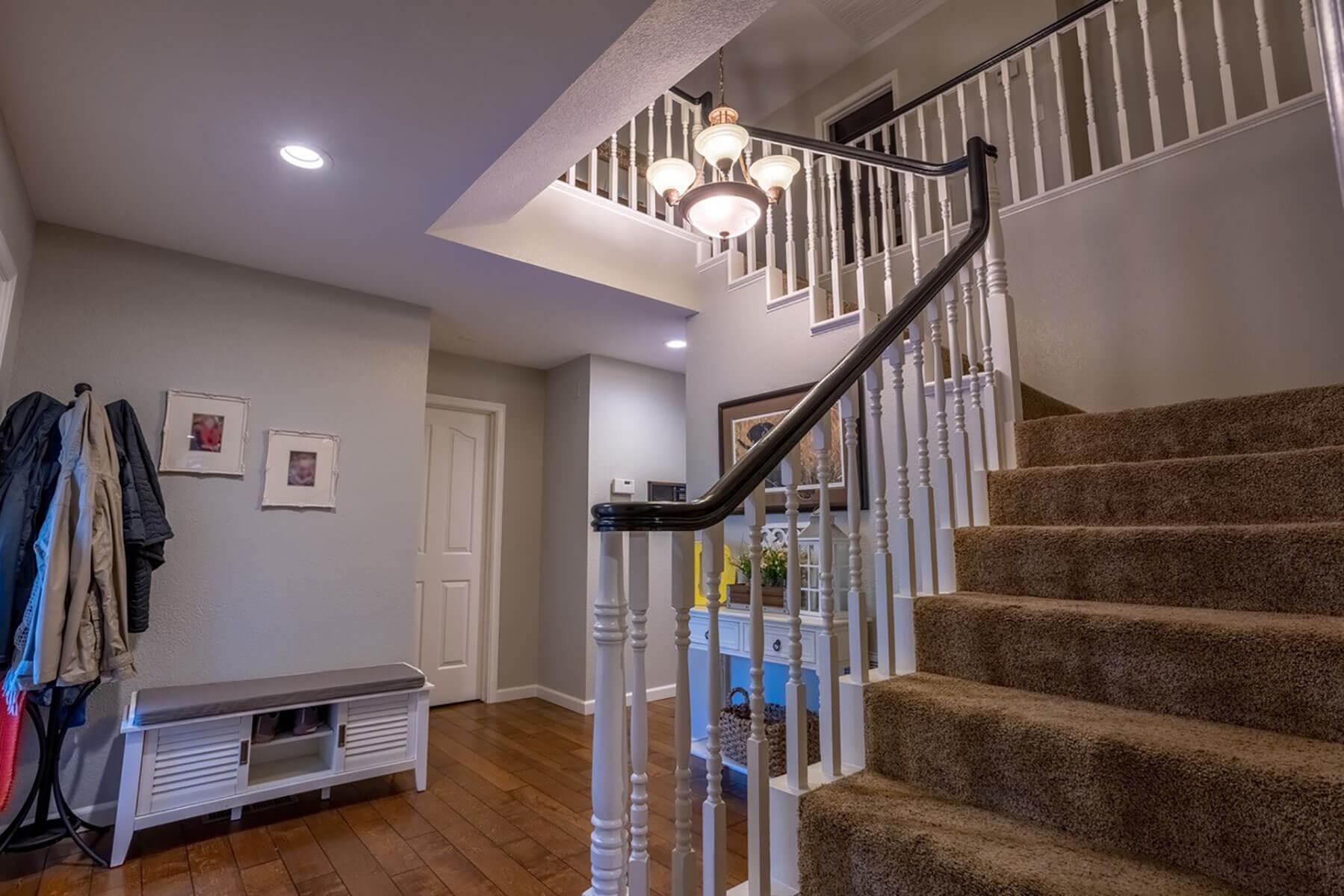 Stairway interior painting