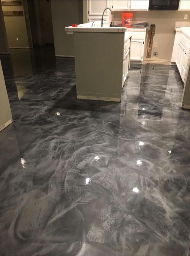 Epoxy Floor in kitchen
